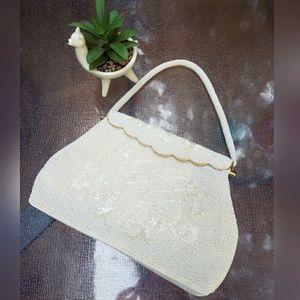 Drop dead gorgeous, VINTAGE, beaded bag!!